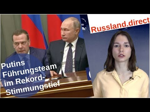 Putins Führungsteam im Rekord-Stimmungstief [Video]
