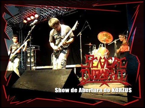 Severe Disgrace - Show de Abertura do Korzus (11/11/2012)