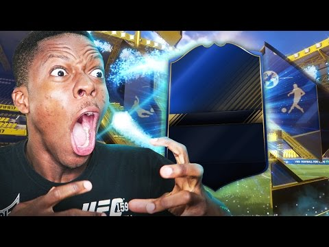 OMG TOTY IN A PACK !!! (THE BEST FIFA 17 TOTY PACK OPENING EVER)