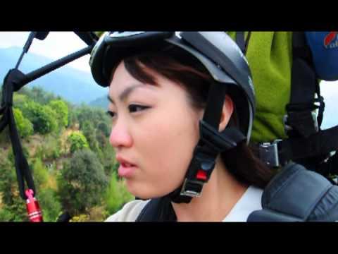 虎嘯山莊 玩飛行傘