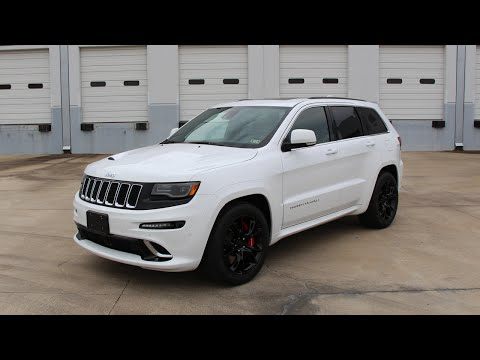 2015 Jeep Grand Cherokee SRT - Review in Detail, Start up, Exhaust Sound, and Test Drive
