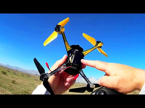Lishitoys L6052 Drone Camera Test Flight