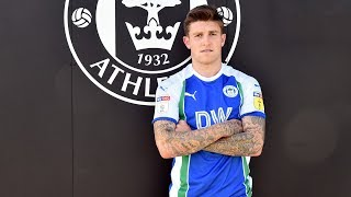 """JOSH WINDASS: """"It was a no-brainer for me to join Wigan Athletic."""""""