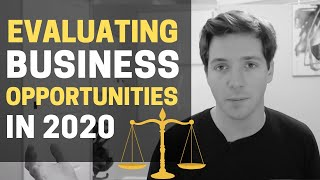 How to Evaluate a Business Opportunity and Idea