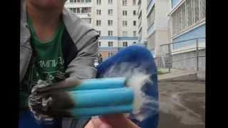 водопад из дыма#2-мега дым