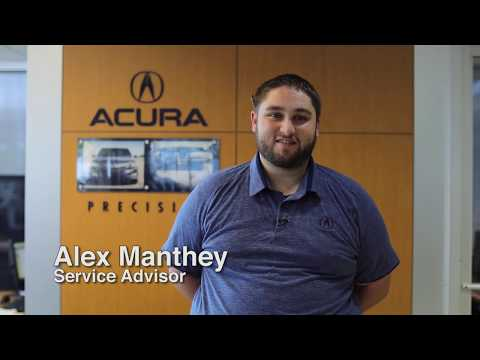Service Advisor Alex Manthey
