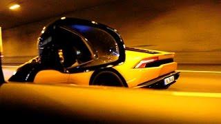 Mercedes-AMG GT-S & Lamborghini Huracan Tunnel Sound