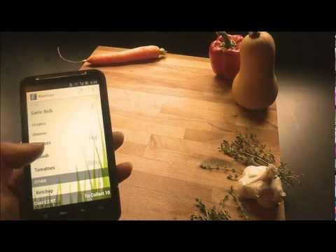 Video of my Food - Grocery Planner