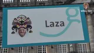 preview picture of video 'Carnaval 2015 - LAZA - Santiago de Compostela.'