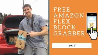 Free Amazon Flex Block Grabber