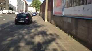 preview picture of video 'Radweg auf der Frankenstrasse Nürnberg'