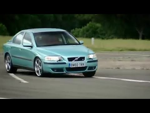 Volvo S60R car review | Top Gear | BBC