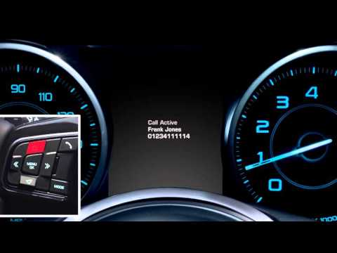 Jaguar XE | InControl Touch Steering Wheel Controls