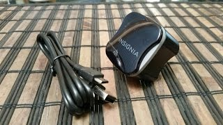INSIGNIA RAPID CHARGING CHARGER 12 watts REVIEW