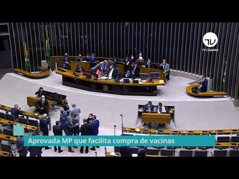 Aprovada MP que facilita compra de vacinas - 23/02/21