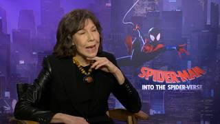 """SPIDER-MAN INTO THE SPIDER-VERSE """"Aunt May"""" Interview - Lily Tomlin"""