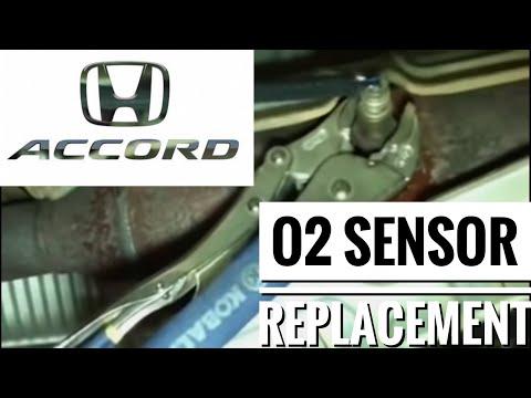 O2 Sensor Replacement for 2006 Honda Accord 4cy SE – P0139