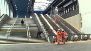 preview picture of video 'The New Reading Station'