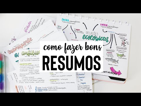 Como fazer bons RESUMOS! | Ana's Studies