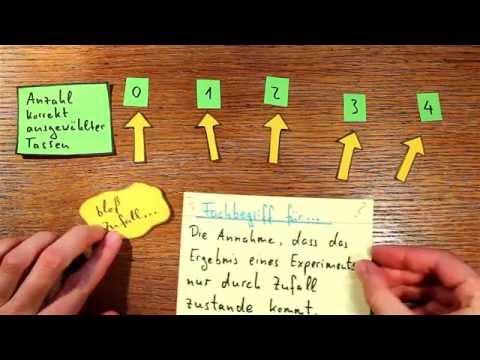 p-Wert, Nullhypothese, Signifikanzniveau - die Idee erklärt