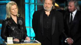 Abba - King Kong Song  (Rock And Roll Hall Of Fame Induction 15/3/10)