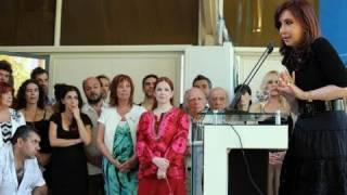 28 De DIC Inauguración Señal De Cable INCAA TV Cristina Fernández De Kirchner