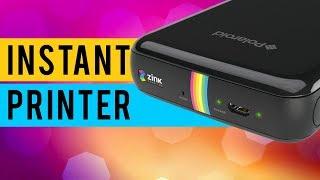 How to Use Polaroid Zip Instant Photoprinter