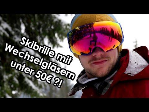Skibrille unter 50€ im Test! - Outdoor Master Ski Goggles Pro