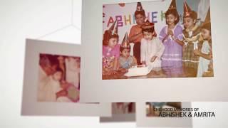 Photo Slideshow Abhishek Amrita Childhood #Memories   #PIXIPfoto Indian Wedding Photography Kolkata