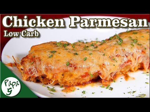 Chicken Parmesan – Easy Low Carb Keto Italian Recipe