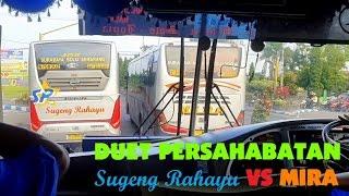 [REALSOUND] Aksi Bus Sugeng Rahayu VS MIRA Kejar-kejaran di Daerah Nganjuk