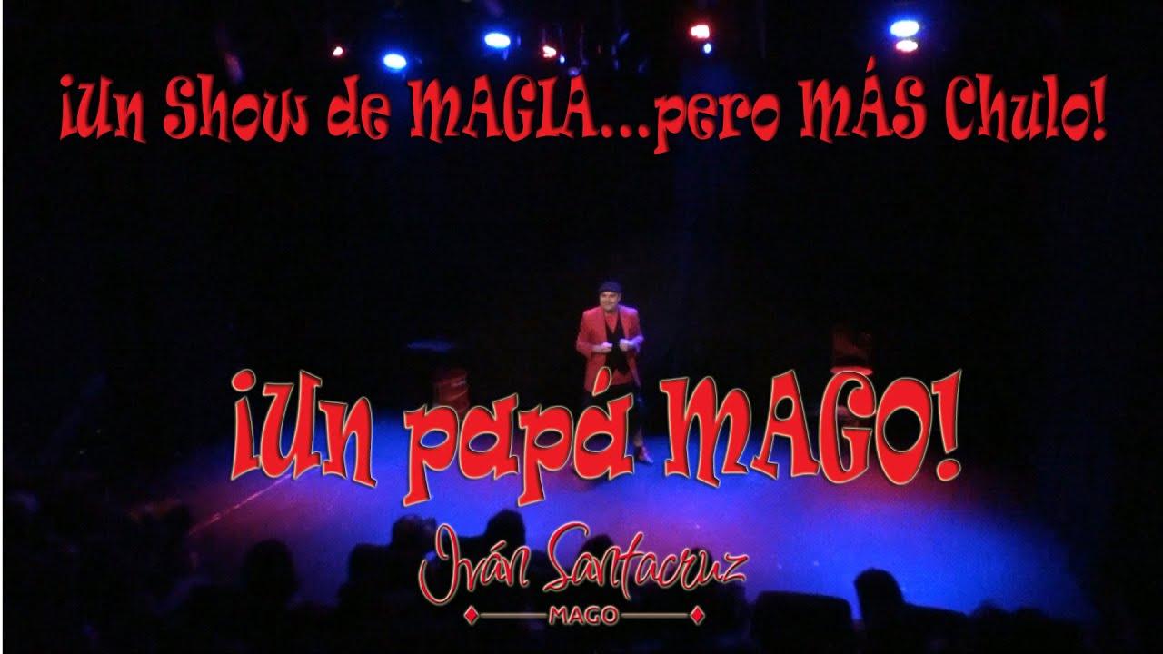 """SHOW REEL """"Un show de Magia...pero más chulo"""" en Teatros Luchana."""