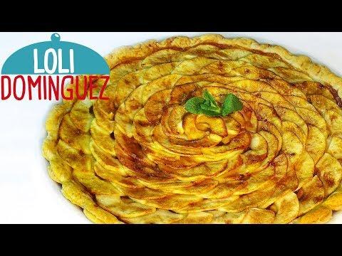 La tarta de manzana más fácil y rápida del mundo. MUY ECONÓMICA. Loli Domínguez