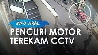 Motor Sport Mandor Bangunan Dicuri Pelaku Beratribut Ojek Online di Kavling Polri