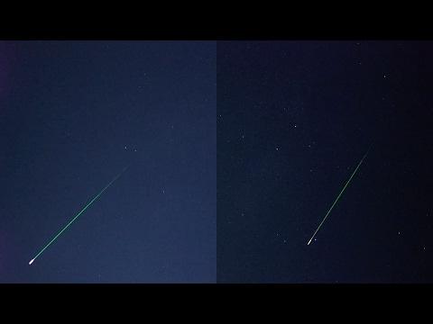 Perseid Meteor Shower (August 12, 2016)