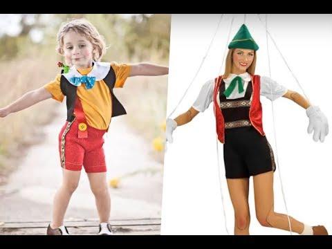 Disfraces de Pinocho para niños y adultos