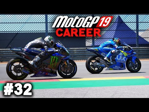MotoGP 19 Career Mode Gameplay Part 32 - THAT REAR THO! (MotoGP 2019 Game Career Mode PS4 / PC)