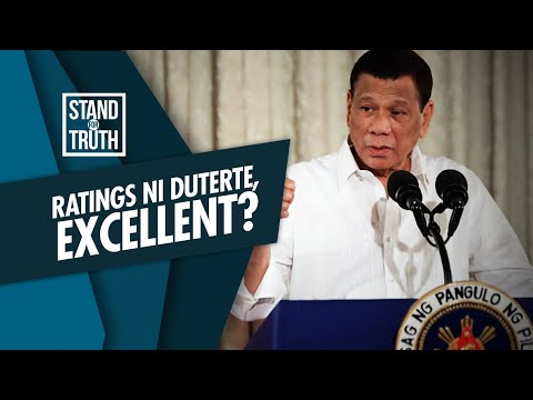 [GMA]  Stand for Truth: COVID-19 response at approval rating ng administrasyong Duterte, excellent?