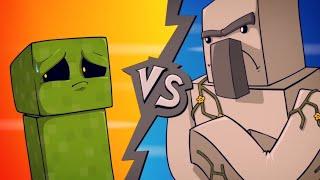 "EPIC MINEQUEST 4 | ""Creeper VS Iron Golem"" by Sam Green Media"