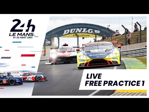 ル・マン24時間 フリープラクティス1のライブ配信動画