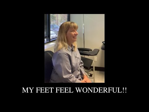 My feet feel wonderful!!
