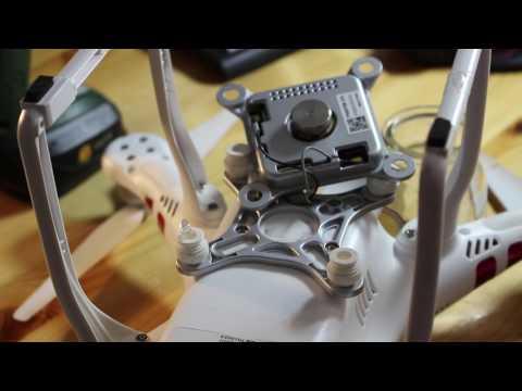 Kamera und Gimbal beim DJI Phantom 3 entfernen/abmontieren - Tutorial/Anleitung