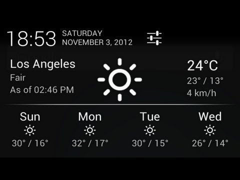 Notification Weather Android App Review
