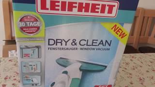Ich teste den Leifheit Dry & Clean Fenstersauger
