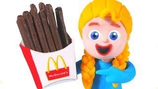 Kids Going To McDonalds ❤ Cartoons For Kids