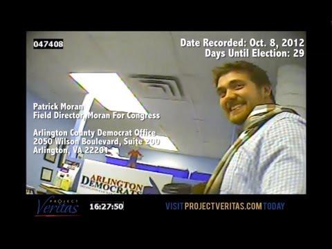 @ProjectVeritas_ : Jim Moran's (D-Va.) Field Director Conspires to Commit Voter Fraud, Forge Docs
