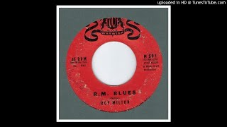 Milton, Roy - R.M. Blues - 1960