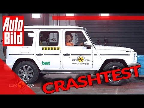 Mercedes G-Klasse (2019): Crashtest - Euro NCAP - SUV