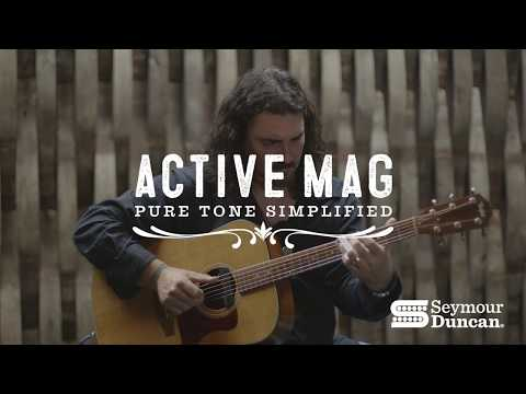 The New Seymour Duncan Active Mag Acoustic Pickup with Alastair Greene