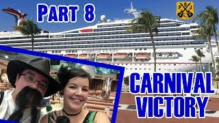 Carnival Victory Cruise Vlog 2018 - Part 8: Halloween, Thriller, Costumes, Deck Party - ParoDeeJay